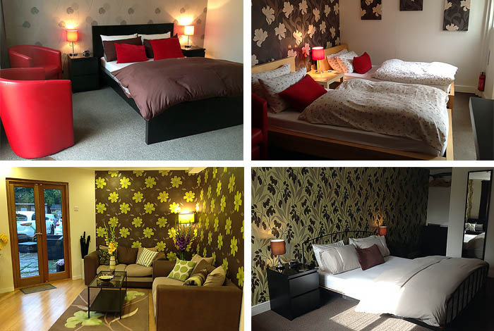 Our Rooms are tastefully decorated and furnished